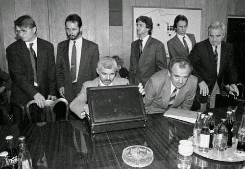 Jan Krzysztof Bielecki, Andrzej Gasiorowski