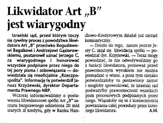 1995.06.01 RP - Likwidator Art-B jest wiarygodny.jpeg