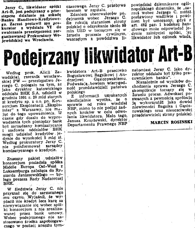 1997.02.02 Slowo Polskie - Podejrzany likwidator Art-B.jpeg